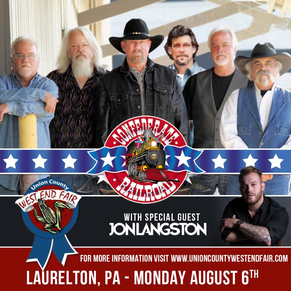 Confederate Railroad with Special Guest Jon Langston